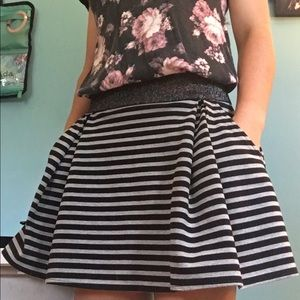 Aeropostale Striped Skirt